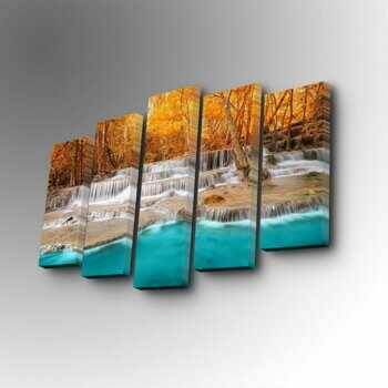 Tablou decorativ Art Five, 747AFV1337, Multicolor la pret 179.99 lei