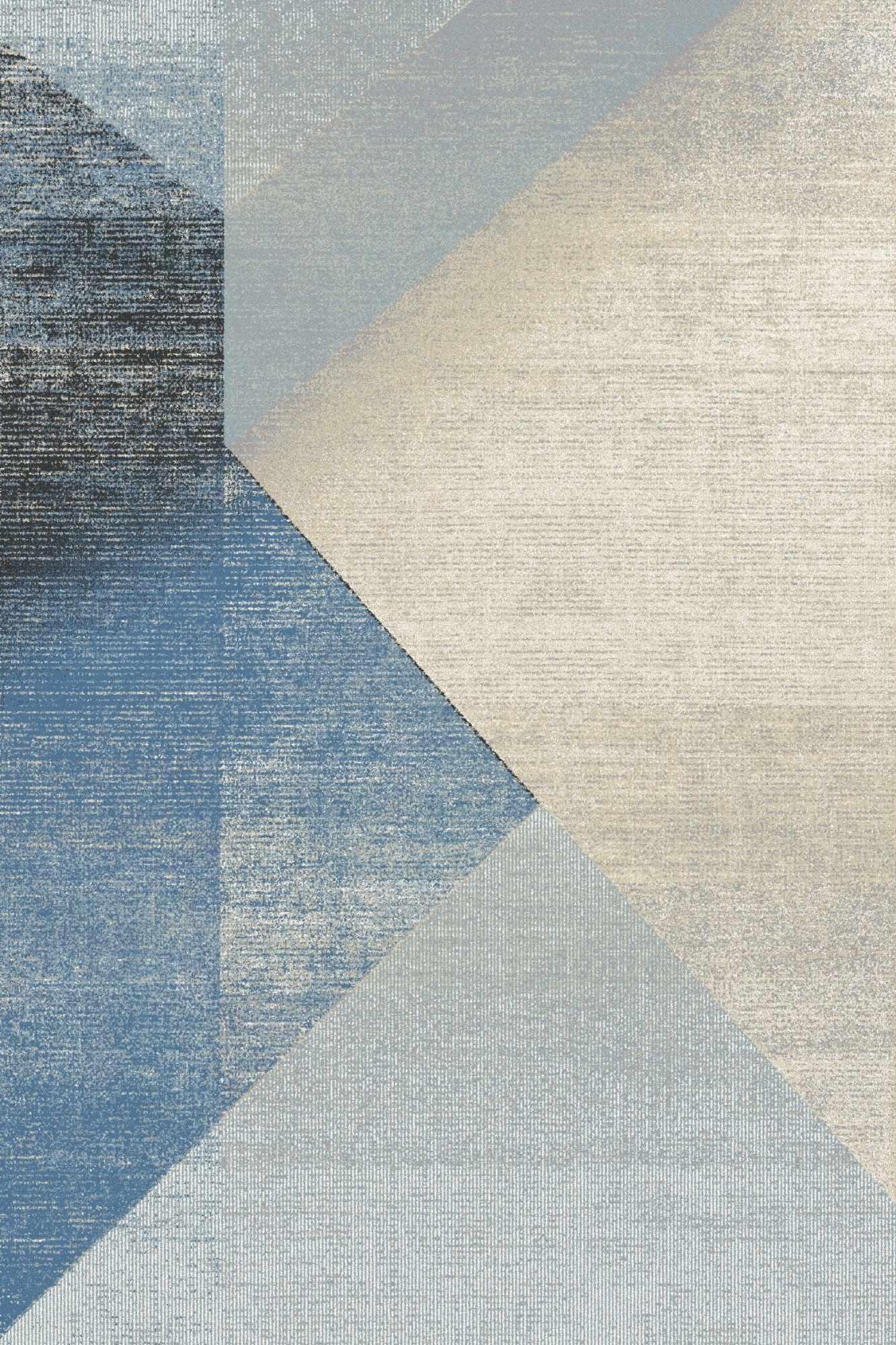 Covor din lana Wido Bleu, Wilton la pret 980 lei