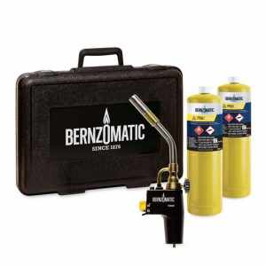 Trusa de lipire Bernzomatic / brazare Pro/Max Kit Box