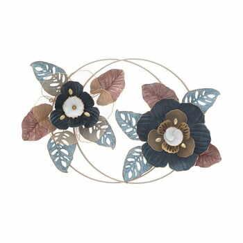 Decorațiune suspendată metalică MauroFerretti Flower Dop, 93x61,5cm la pret 768 lei