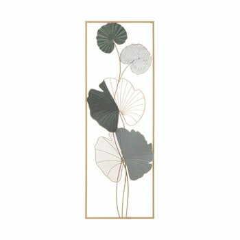 Decorațiune suspendată metalică Mauro Ferretti Lotus B, 31 x 89,5 cm la pret 254 lei