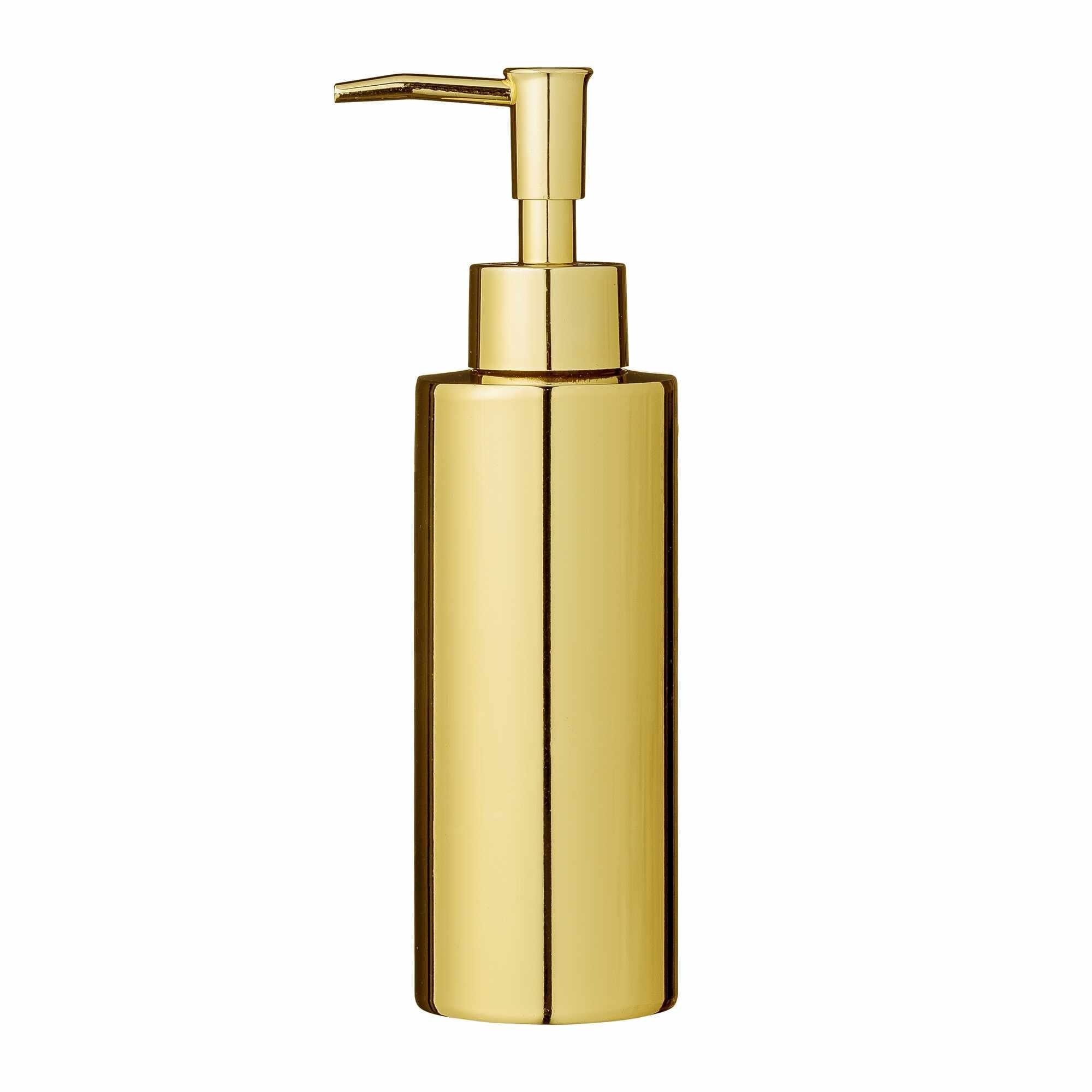 Dozator pentru sapun din metal, Goldy Auriu, Ø5,5xH19,5 cm la pret 168 lei