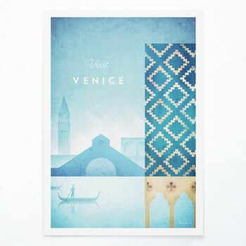 Poster Travelposter Venice, A2