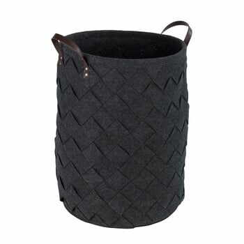 Coș pentru rufe Wenko Trovo, negru, 75 l la pret 209 lei