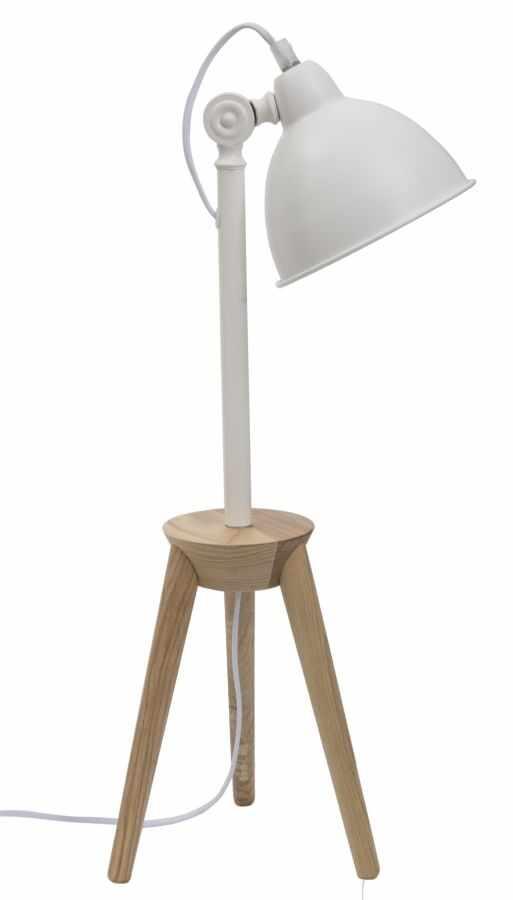 Lampa de birou Soffi Desk Alb / Natural la pret 563 lei