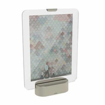 Ramă foto cu LED Umbra Glo, 13 x 18 cm, gri la pret 157 lei