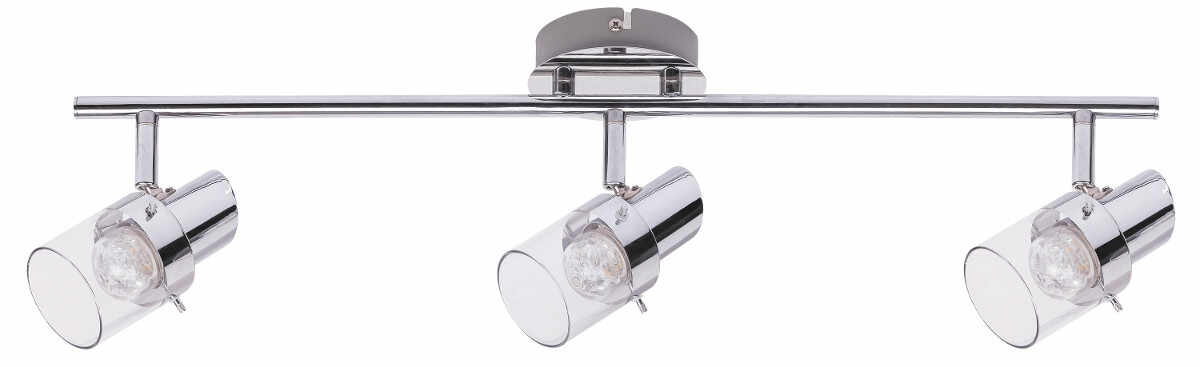 Plafoniera Spot Dakota, 3 x LED 3 x 4,5W