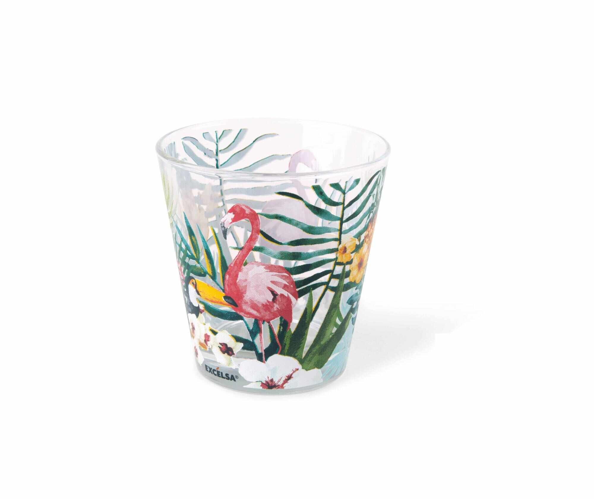 Set 6 pahare Tropical Paradise 250 ml la pret 59.99 lei
