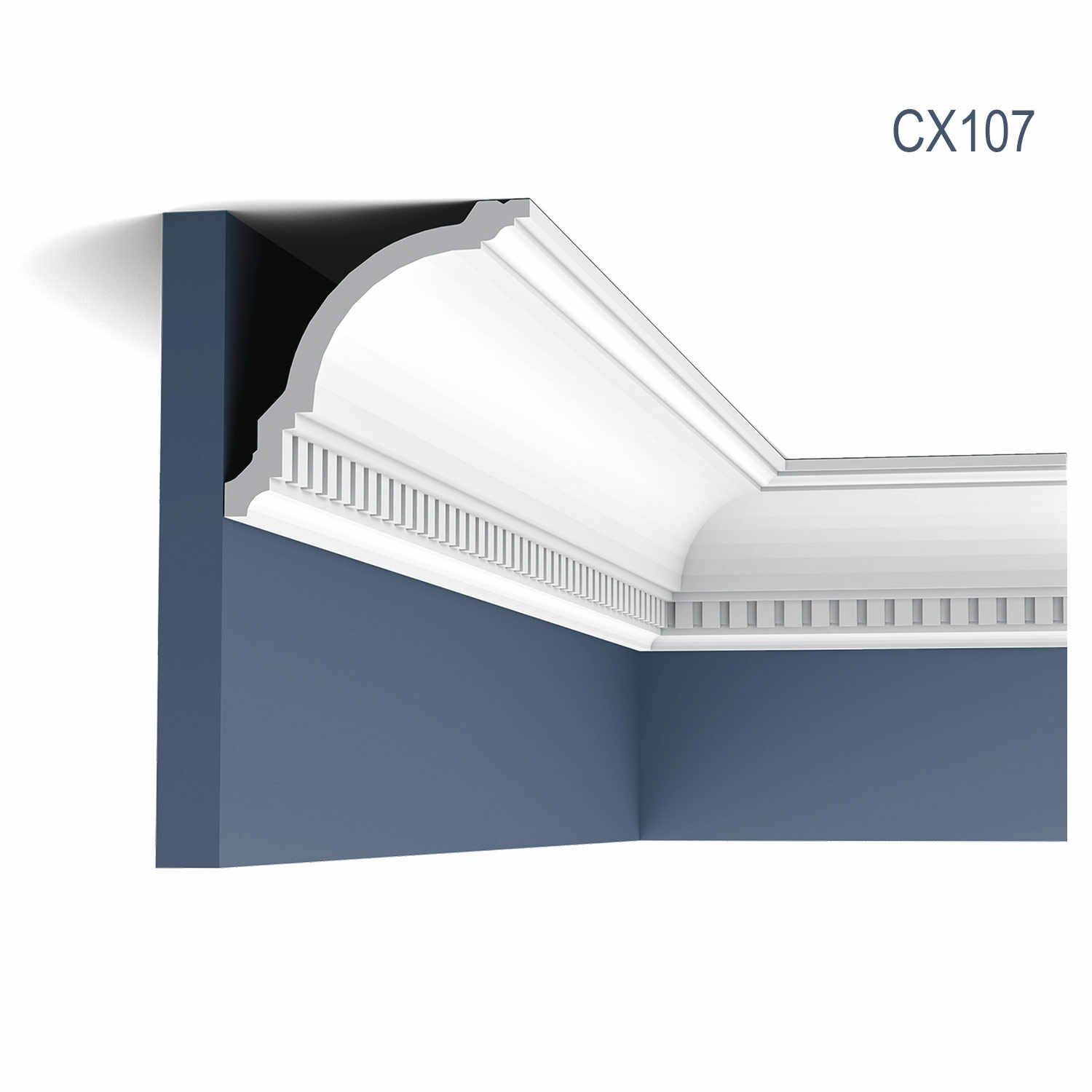 Cornisa Axxent CX107, Dimensiuni: 200 X 11.8 X 11.7 cm, Orac Decor