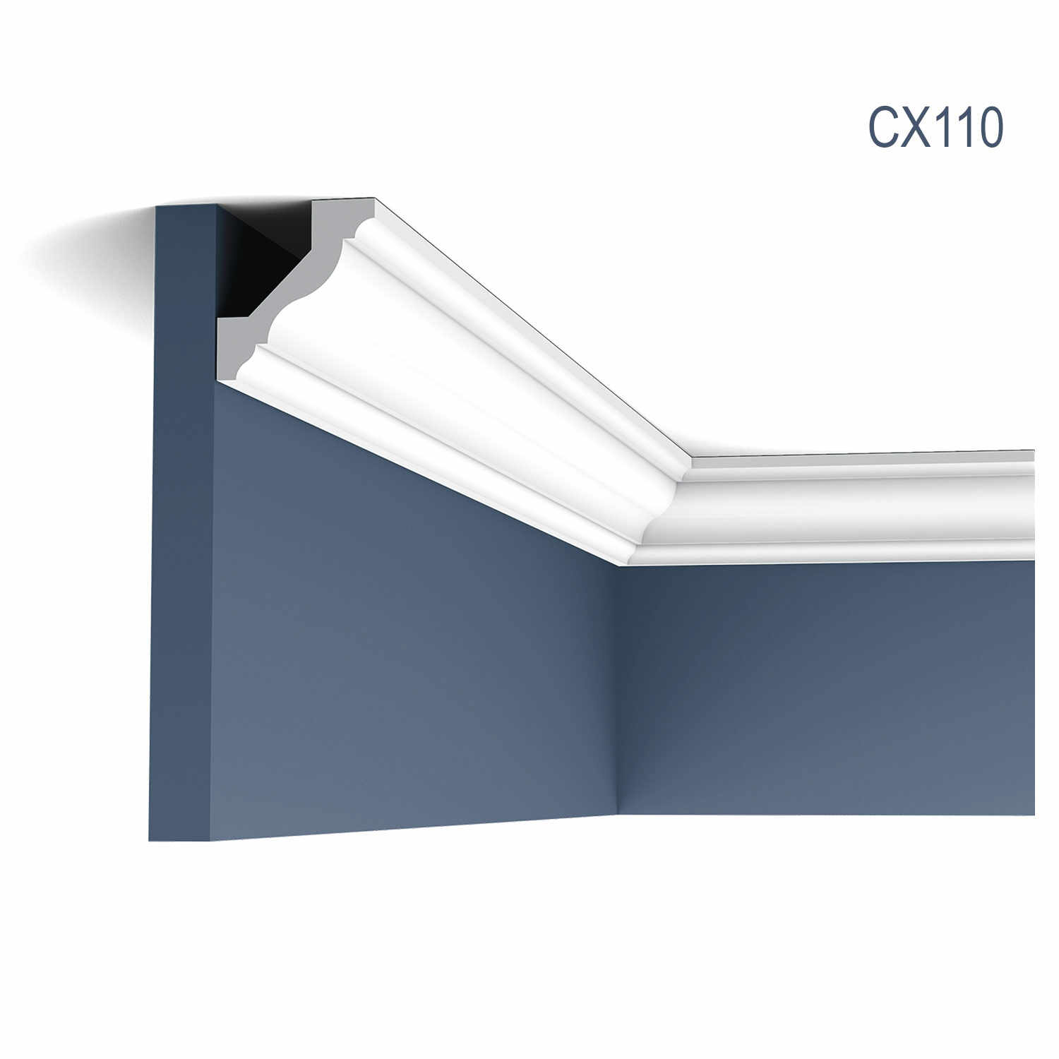 Cornisa Axxent CX110, Dimensiuni: 200 X 4.5 X 4.1 cm, Orac Decor