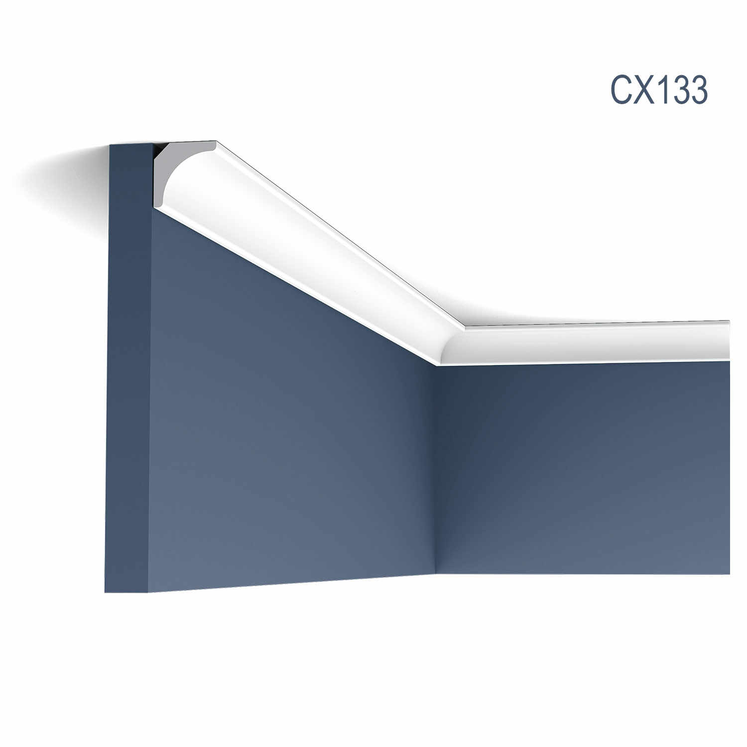 Cornisa Axxent CX133, Dimensiuni: 200 X 2 X 2 cm, Orac Decor
