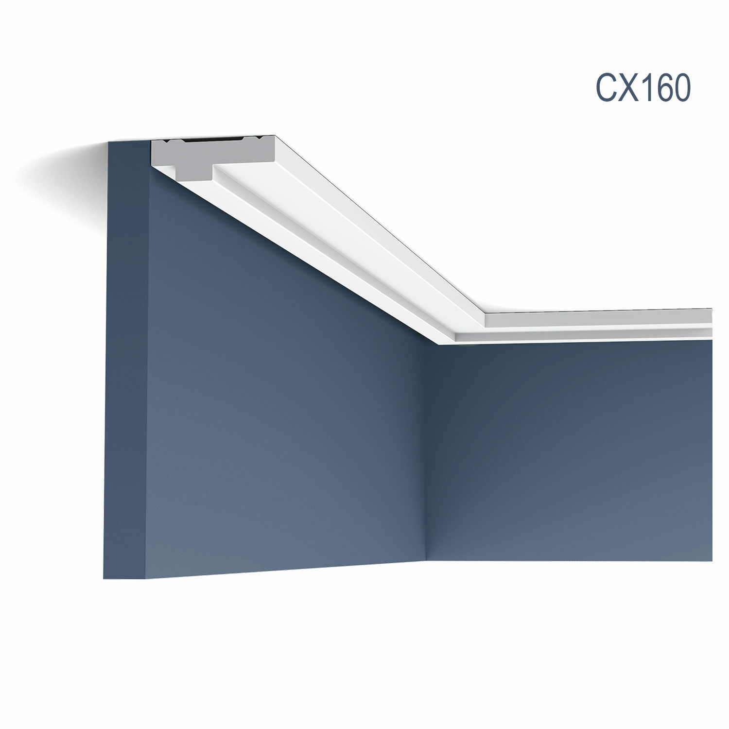 Cornisa Axxent CX160, Dimensiuni: 200 X 1.3 X 3.9 cm, Orac Decor