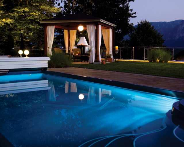 Tablou canvas - piscina