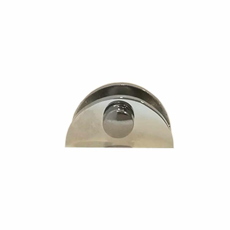 Suport polita sticla 6 - 8 mm crom la pret 4 lei
