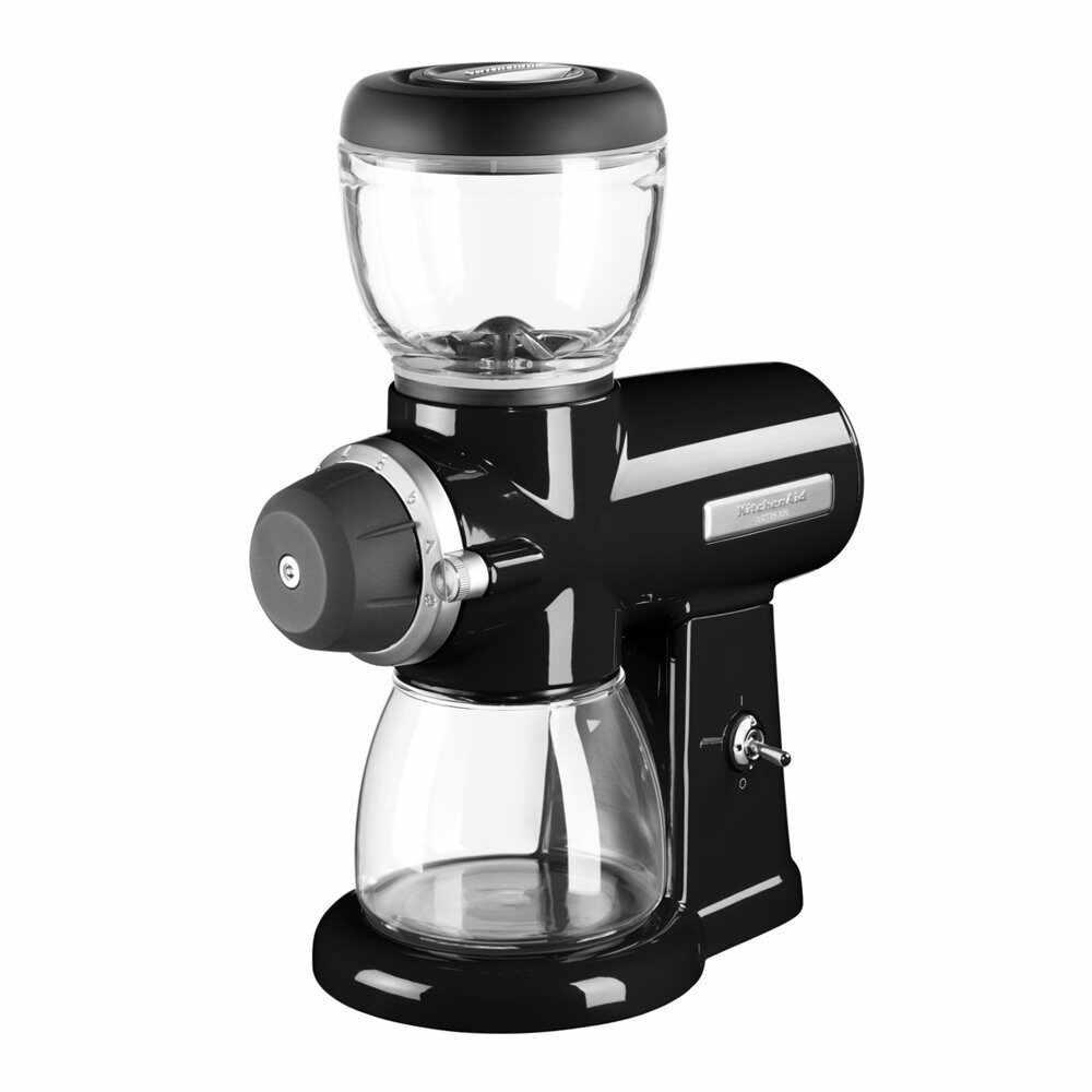 Rasnita electrica de cafea Onyx, KitchenAid-Negru la pret 1199 lei