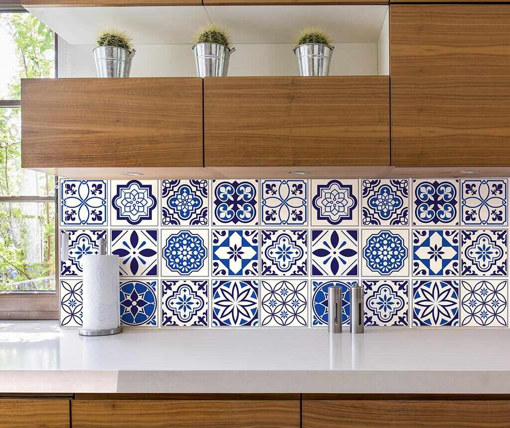Set 24 stickere Tile Spanish Morrocan la pret 65.99 lei