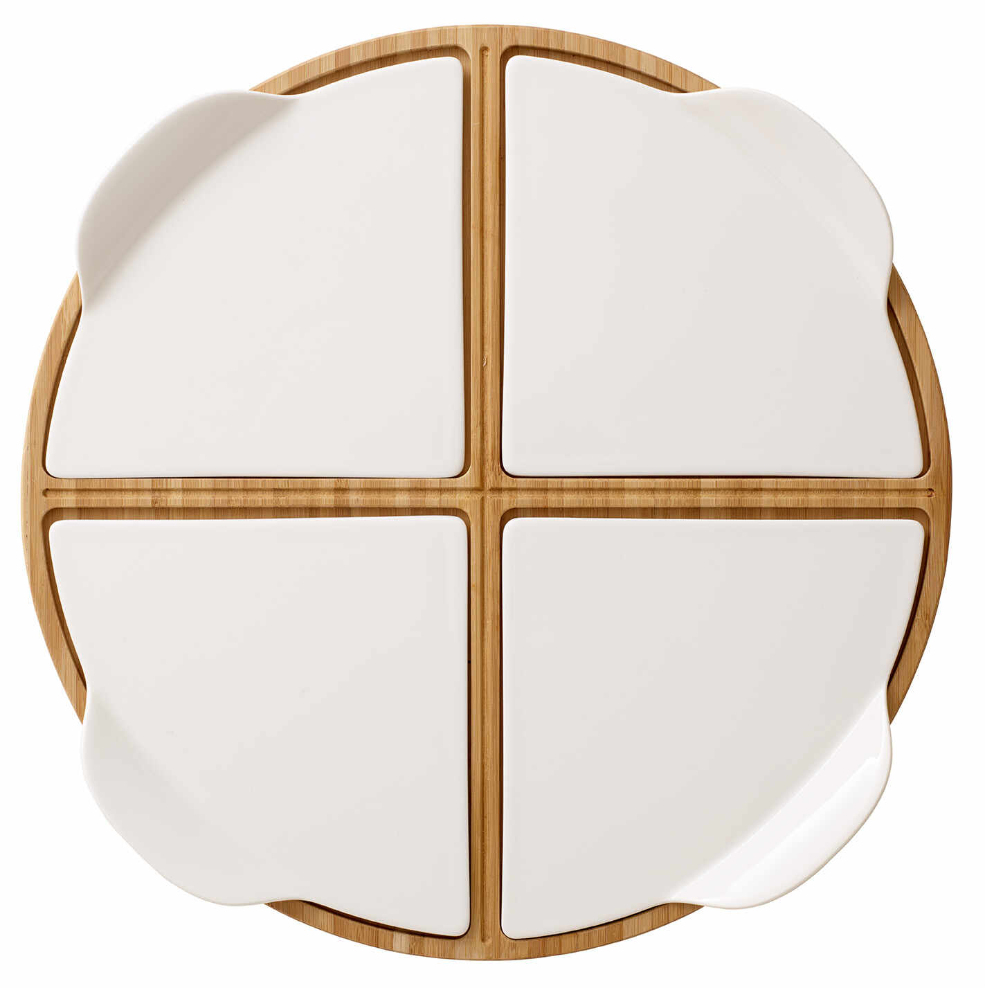 Platou rotund Villeroy & Boch Pizza Passion Party Plate 35cm