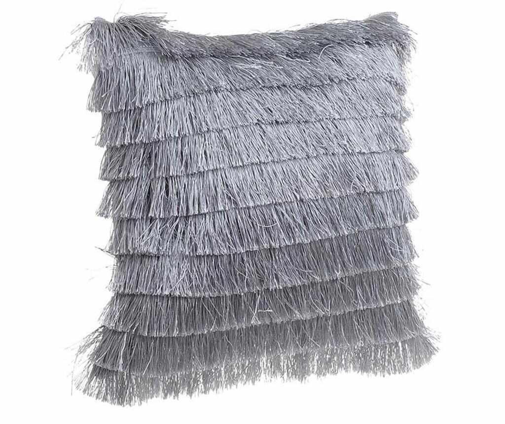 Perna decorativa Daisha Fringes Grey 40x40 cm la pret 39.99 lei