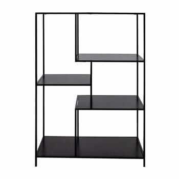 Bibliotecă House Nordic Vita Shelf, 80 x 120 cm, negru la pret 481 lei