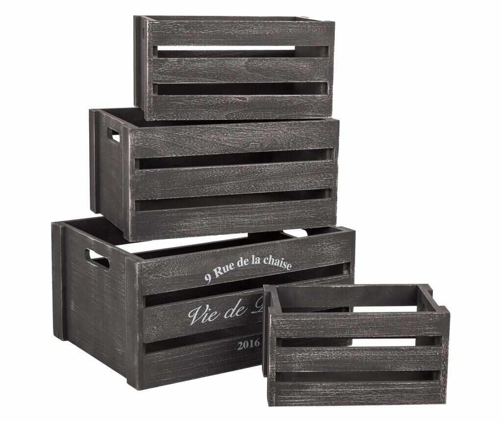 Set 4 cutii la pret 169.99 lei