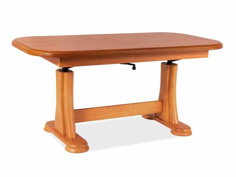Masa de cafea extensibila din lemn si pal Artur Arin, L127-164xl67xH60-75 cm la pret 678 lei