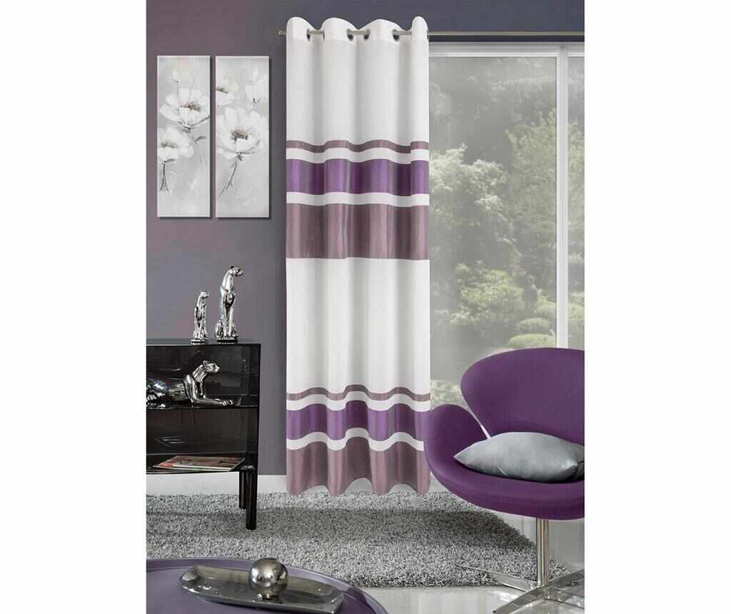Draperie Shirley Purple 140x250 cm