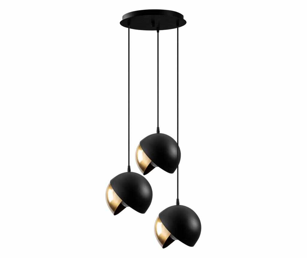 Lustra Berceste Three Black Gold Round la pret 199.99 lei