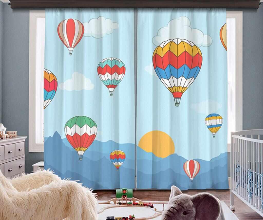 Set 2 draperii Air Baloon 140x260 cm la pret 359.99 lei