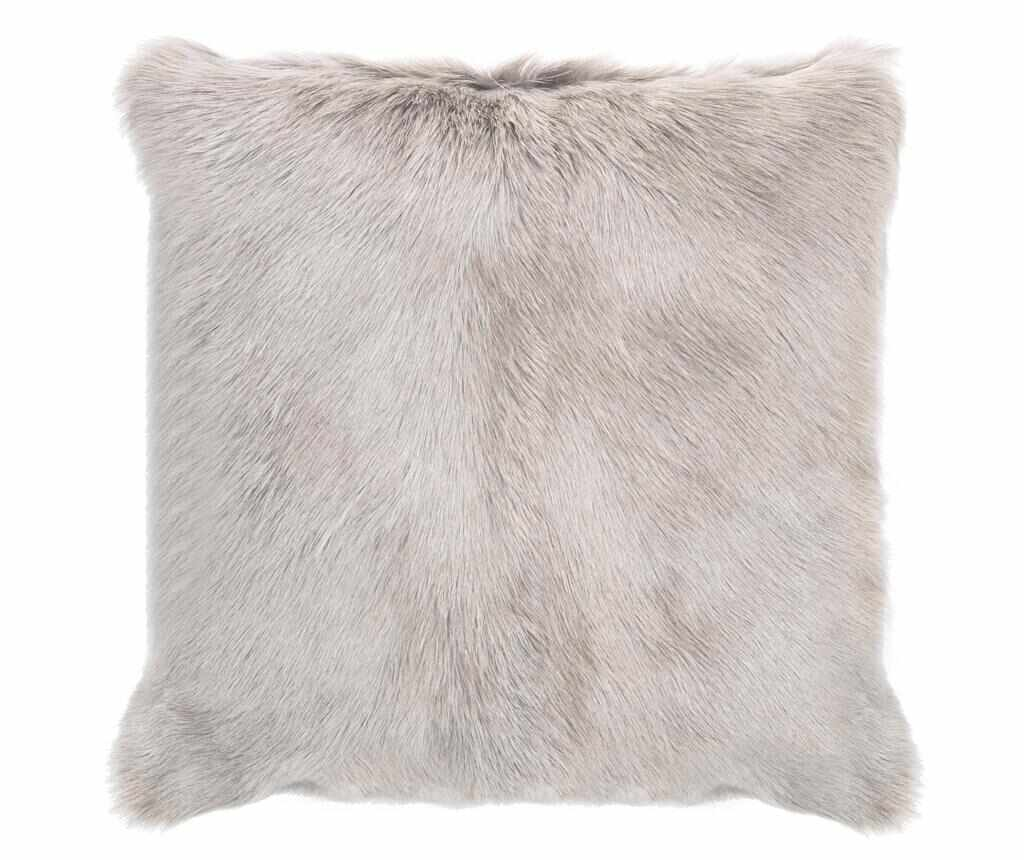 Perna decorativa Fur Maxi Grey 50x50 cm la pret 339.99 lei
