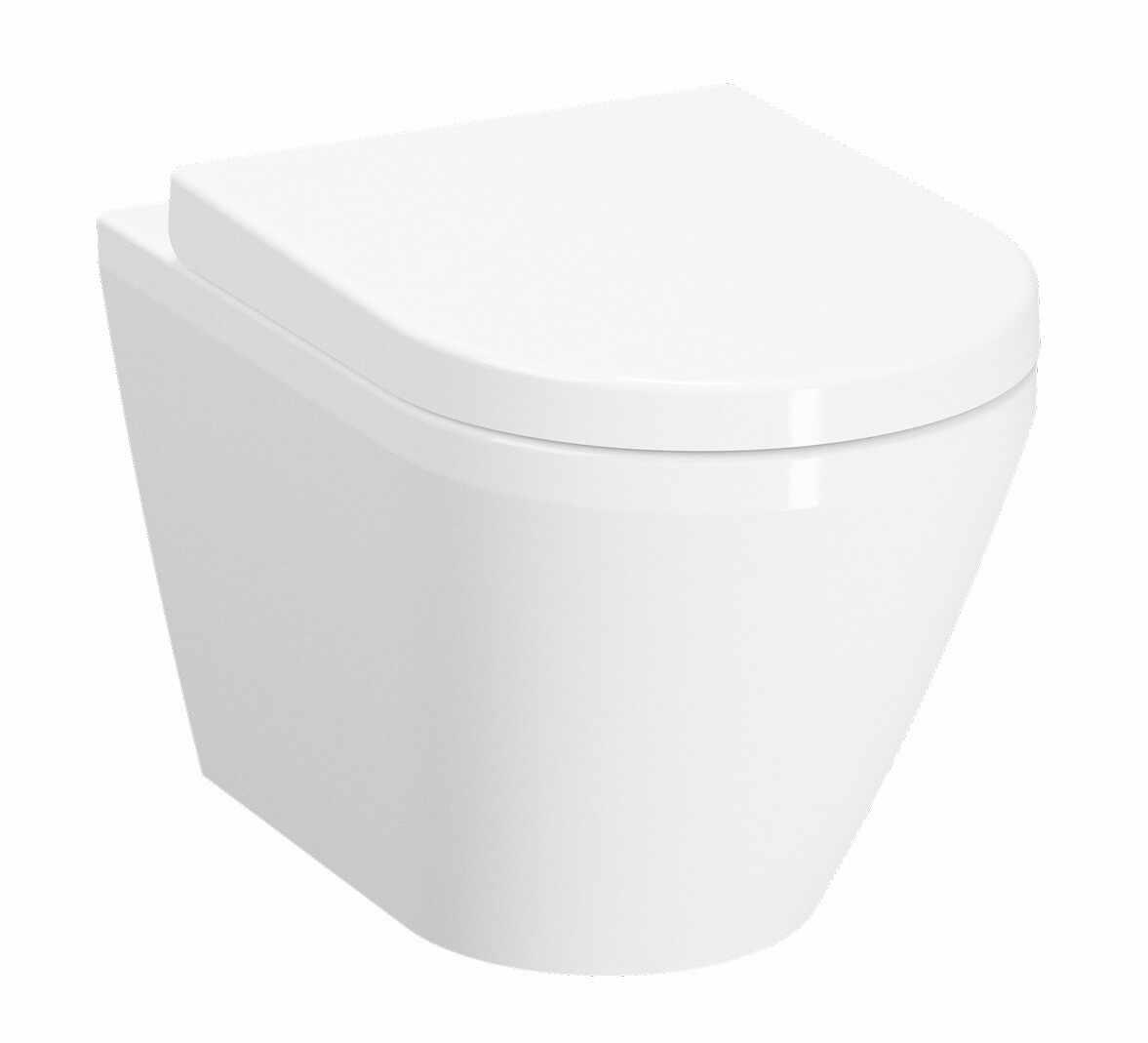 Vas WC suspendat Vitra Integra 54 cm Rim-Ex cu functie de bideu si prinderi ascunse la pret 998.01 lei