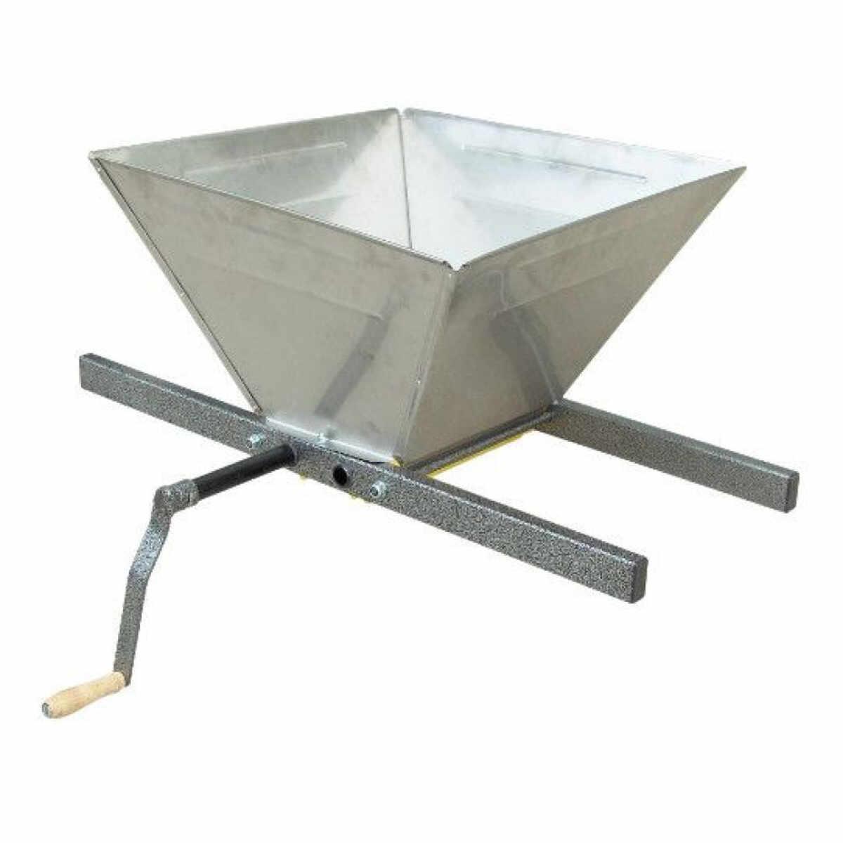Zdrobitor struguri Evotools manual, cuva metal, 15L la pret 462.28 lei