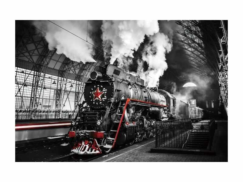 Tablou Sticla Locomotive, 120 x 80 cm la pret 511 lei