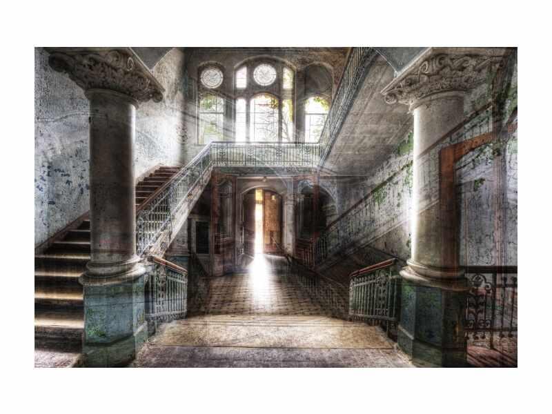 Tablou Sticla Old Hall, 120 x 80 cm la pret 486 lei