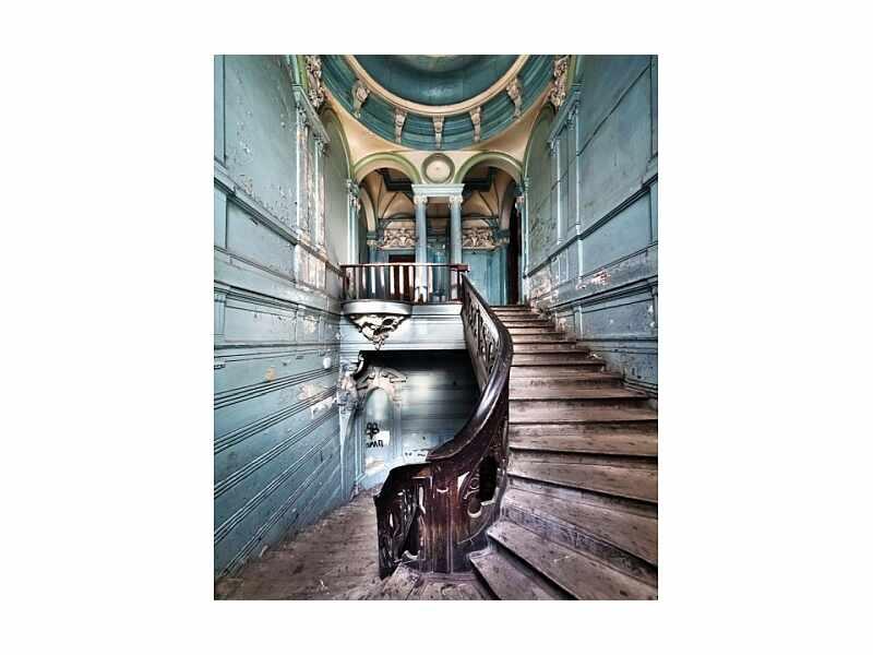 Tablou Sticla Stairs I, 80 x 120 cm la pret 486 lei