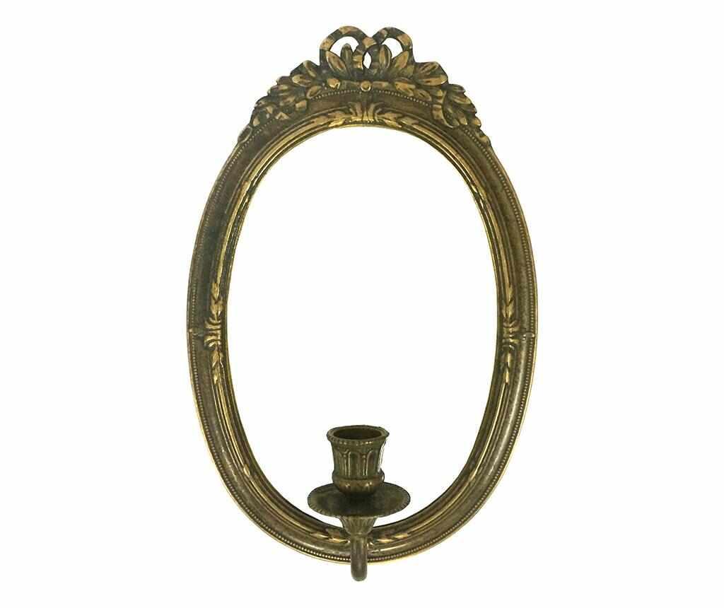 Suport de perete pentru lumanare cu oglinda Rina la pret 239.99 lei