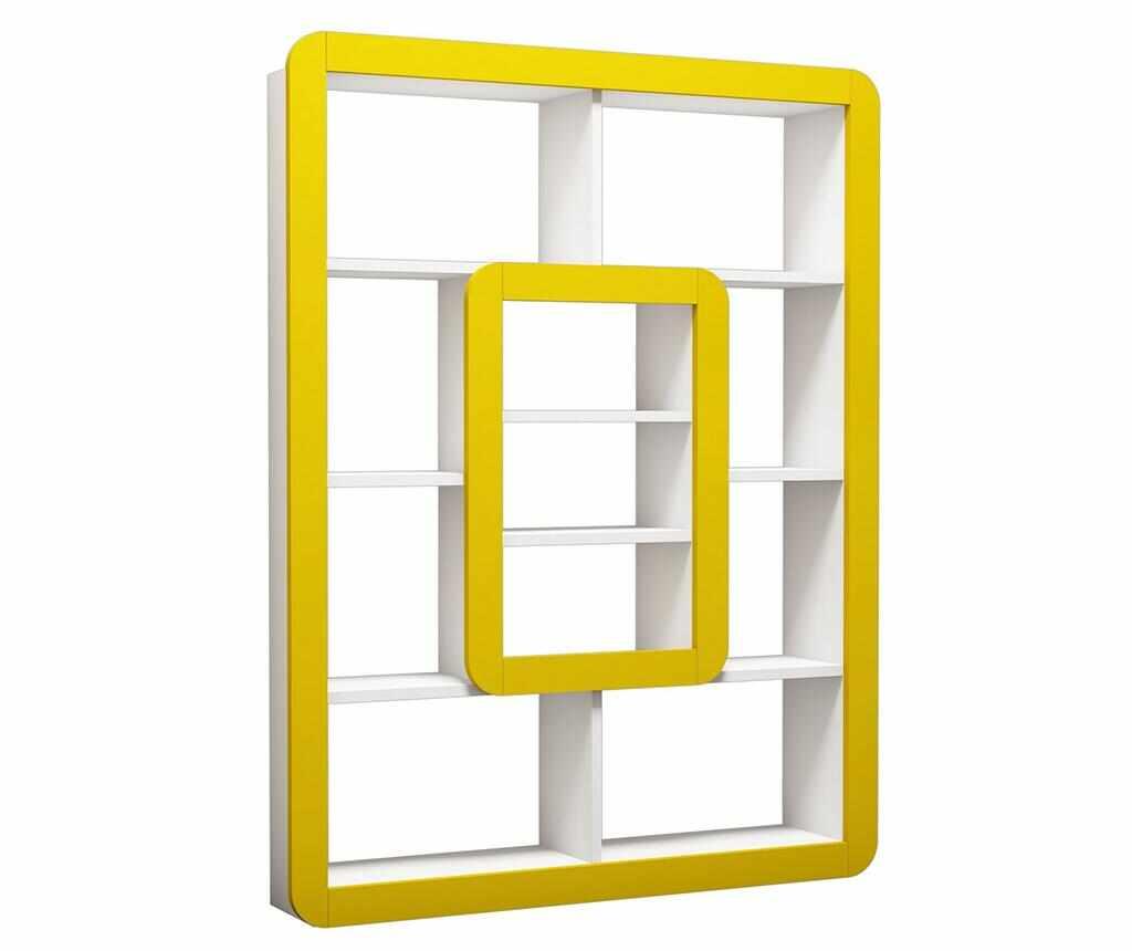 Corp biblioteca Orkide White Yellow la pret 519.99 lei