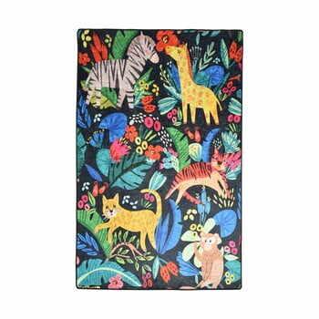 Covor antiderapant pentru copii Chilai Zoo,140x190 cm la pret 239 lei