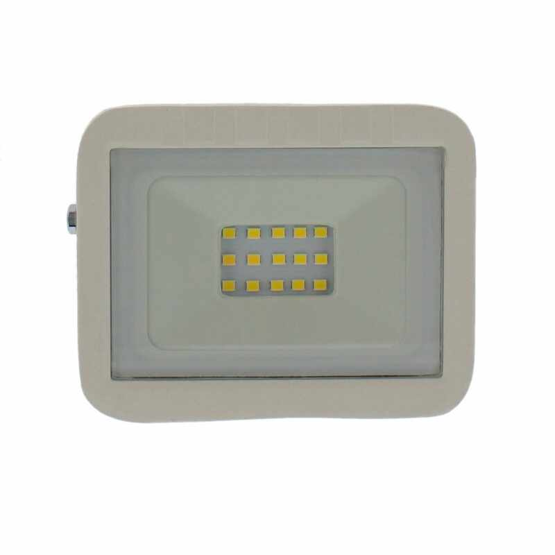 Proiector LED Well, 10 W, 800 lm, IP65, 4000 K, Alb