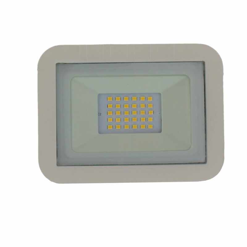 Proiector LED Well, 20 W, 1600 lm, IP65, 4000 K, Alb