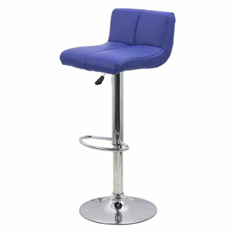 Scaun ABS pentru bar, inaltime 101 cm, suporta maxim 100 kg, Albastru la pret 196 lei