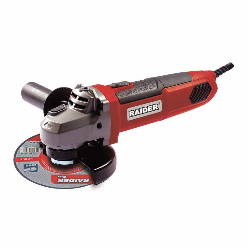 Polizor unghiular Raider, 750 W, 11000 rpm, disc 125 mm la pret 210 lei