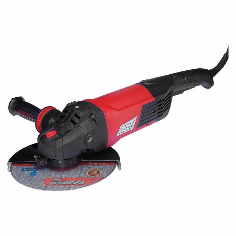 Polizor unghiular Raider, 2500 W, 6600 rpm, 230 mm la pret 660 lei