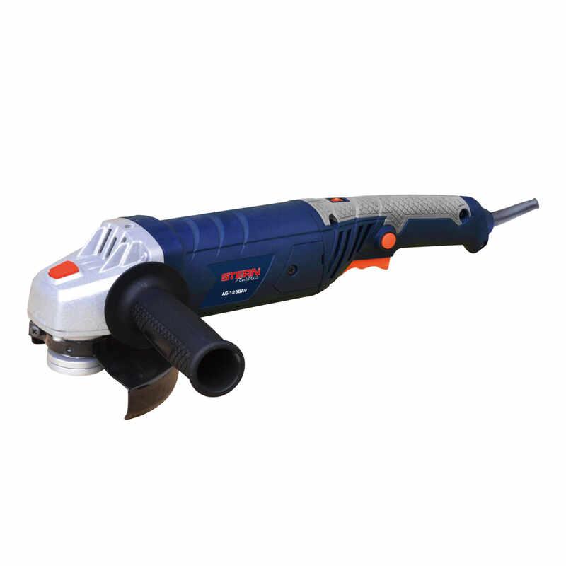 Polizor unghiular Stern AG125GAV, 12000 rpm, 125 mm, 1200 W la pret 208 lei