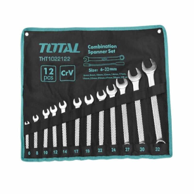 Set 12 chei combinate fixe/inelare Total, 6 - 32 mm, husa inclusa la pret 172 lei