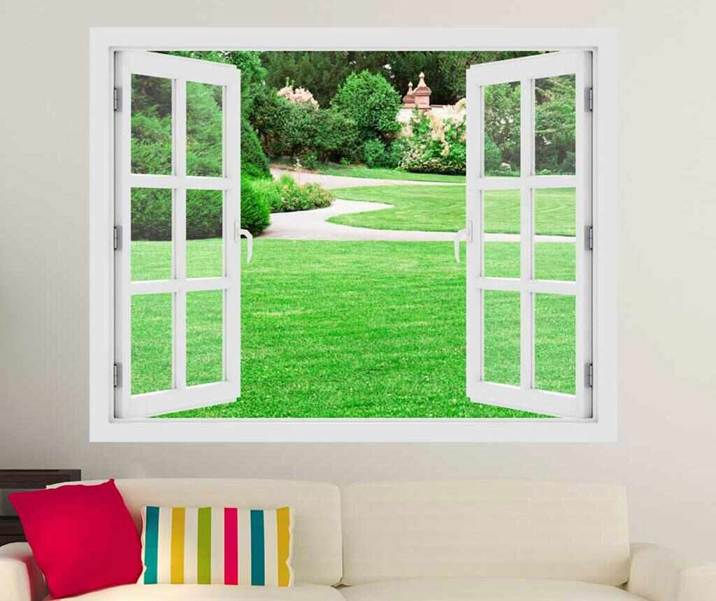 Sticker 3D Window Magical Garden la pret 59.99 lei