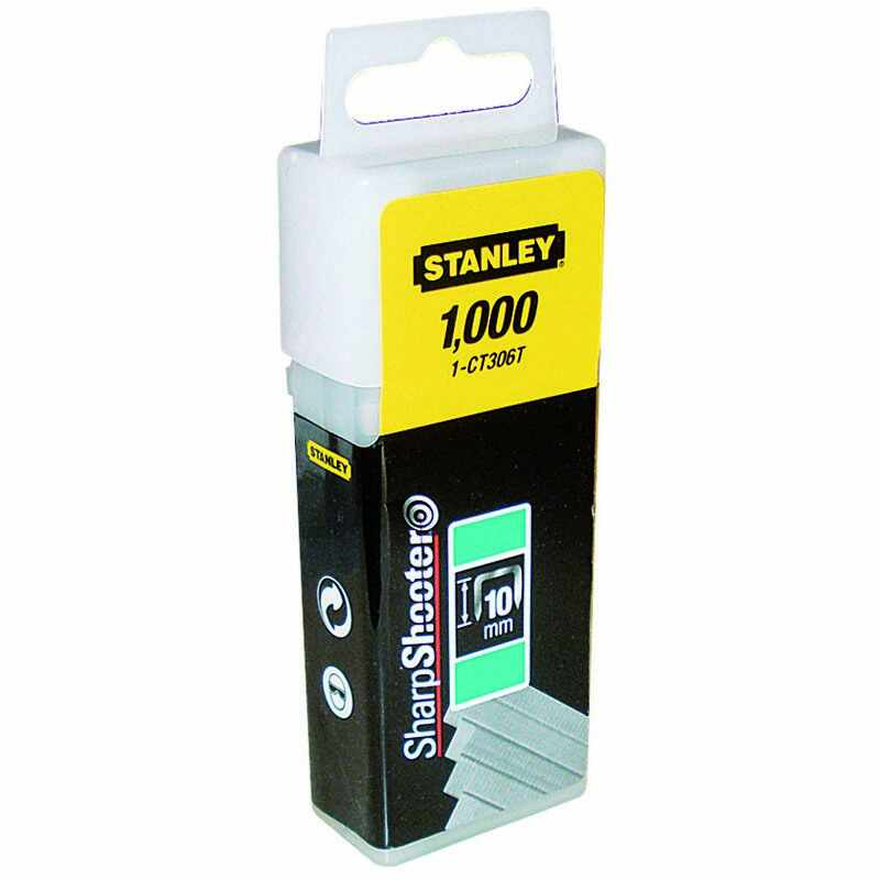 Capse 6mm Tip A 5/53/530 -1000 buc Stanley - 1-TRA204T