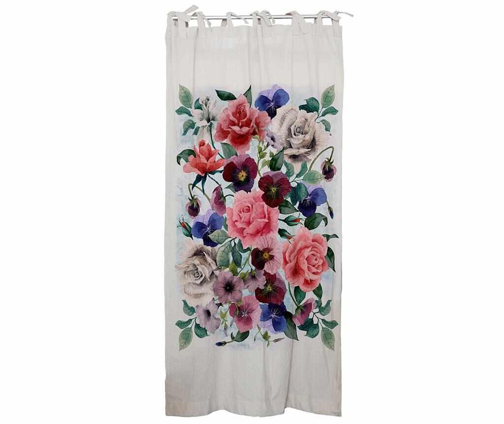 Draperie Flowers Mix 130x250 cm la pret 249.99 lei