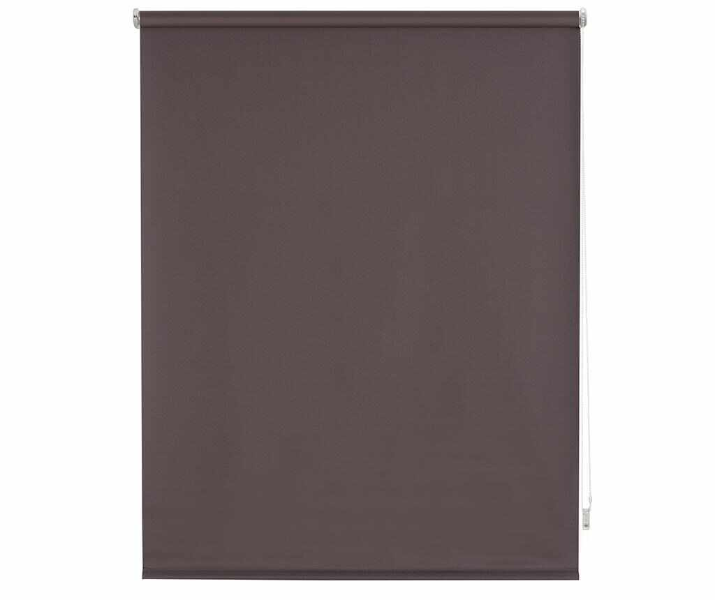Jaluzea tip rulou Blackout Brown 160x175 cm