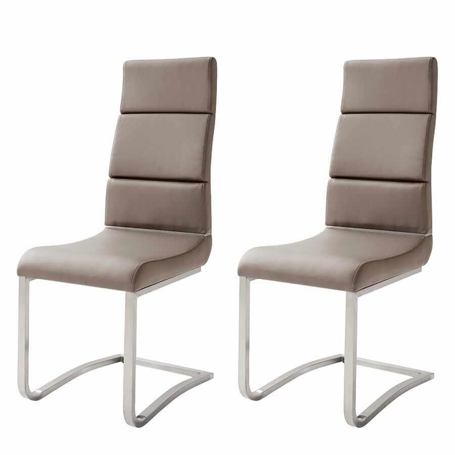 Set de 2 scaune Mergozzo maro, 44 x 106 x 61 cm la pret 740 lei