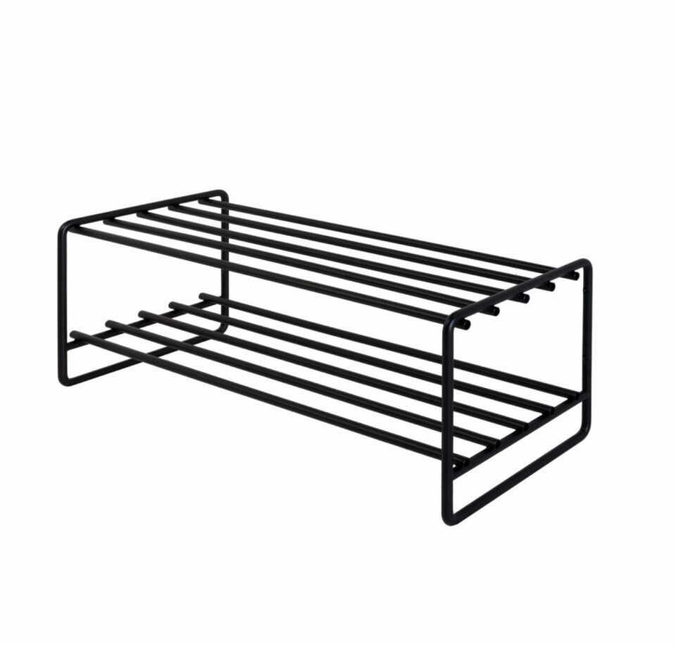 Stand pentru incaltari OPP otel, negru, 70 x 27 x 29 cm la pret 215 lei